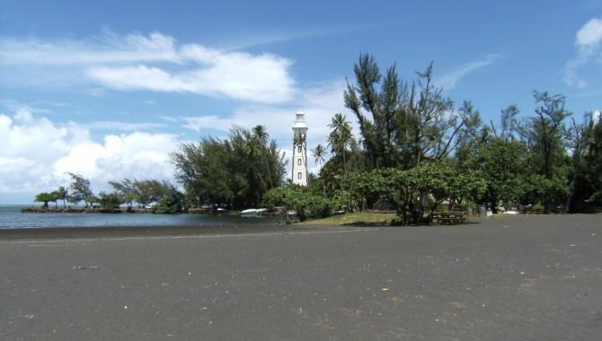 Пойнт Венус Бийч, Таити, Френска Полинезия