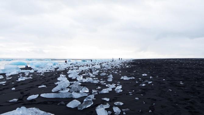 Даймънд Бийч, Исландия