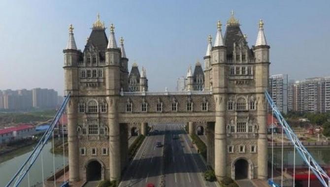 2. Лондонският Тауър Бридж в Сучжоу, Китай. Когато англичаните за първи път пристигнат в Китай, има голяма вероятност да изпаднат в културен шок. -589_2