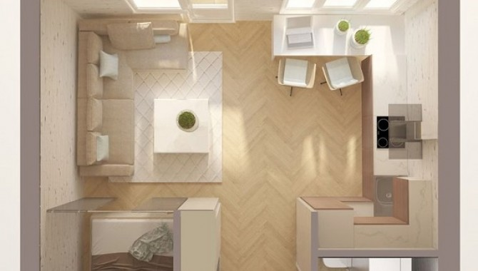 Апартамент-студио със спално място-604_1