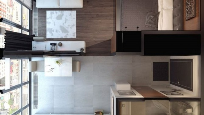 Квартира с две спални места и отделна кухня