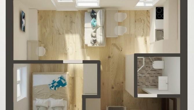 Апартамент-студио с отделна спалня-604_7