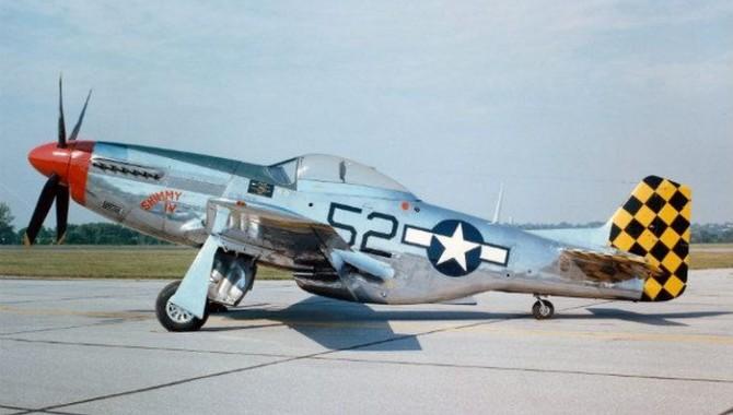 1. Изтребител Mustang от Втората световна война  -605_1