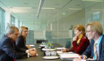Министър Хюше Тер Хорст: Впечатлена съм от напредъка, който сте направили в този кратък срок