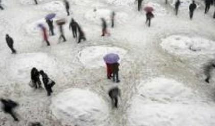 Снежните бури в Китай причиниха икономически щети за близо 3 млрд. долара