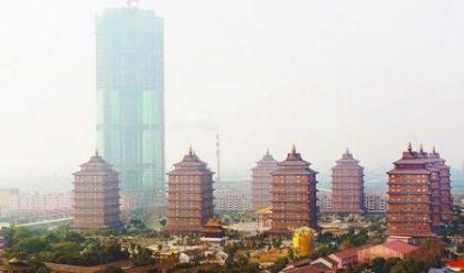Китайското село завършва първия си небостъргач през юни