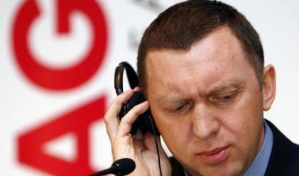Дерипаска ще получава 10 млн. долара базова заплата в Rusal