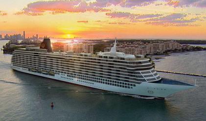 Щатска компания ще продава апартаменти на кораб