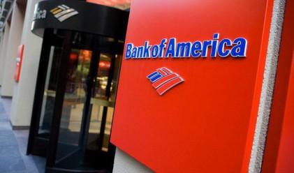 Bank of America отчете загуба за четвъртото тримесечие