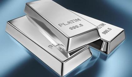 Платината изпреварва златото като фаворит на инвеститорите