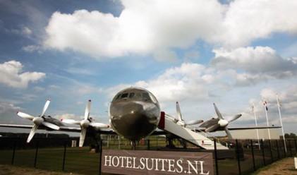 Превърнаха самолет Ил-18 в луксозен хотел