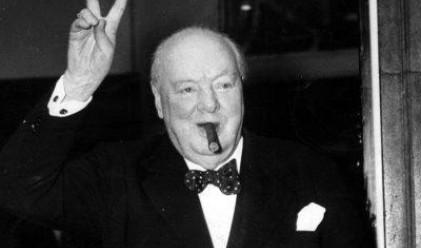 Недопушена пура на Чърчил продадена за 7 хил. долара