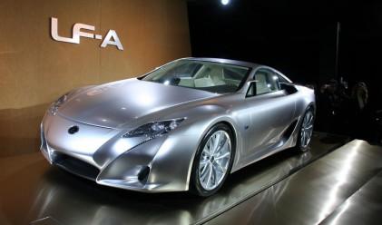 Lexus най-продаван луксозен автомобил в САЩ за 11-та година