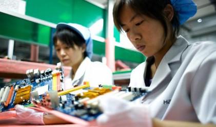 Търговският излишък на Китай намалява през 2010 г.