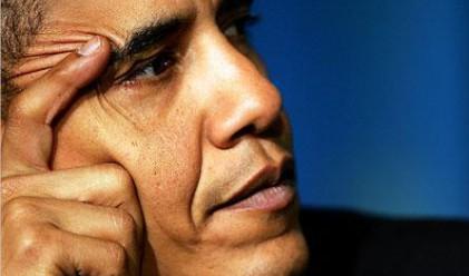 Обама отслабна с 14 кг от грижи
