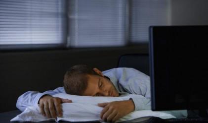 Как недоспиването влияе на работата ви?