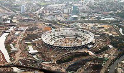 Лондон е почти готов с Олимпийския стадион за 2012