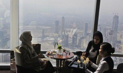 Най-високият ресторант в света отвори врати в Дубай