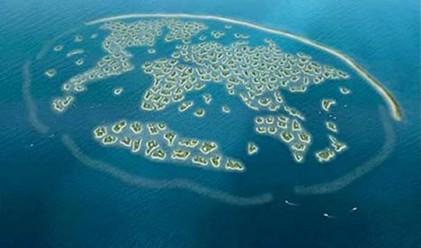 В Дубай потъва най-големият изкуствен архипелаг в света