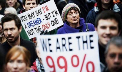 Половината от най-богатия 1% в света са в САЩ
