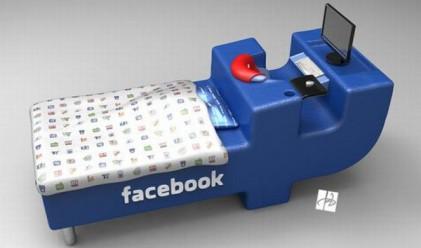 Измислиха легло, вдъхновено от Facebook