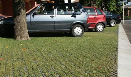500 лв. глоба за кола в тревата пред блока