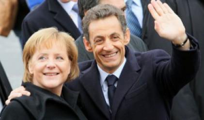 Меркел и Саркози с нови идеи за решаване на финансовата криза