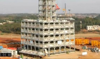 В Китай построиха 30-етажна сграда за 15 дни (видео)