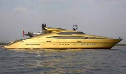 Тази златна суперяхта се продава за 19 млн. долара