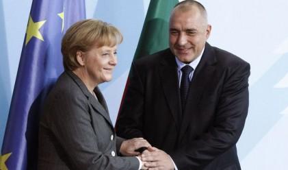 Борисов: Когато канцлерът говори, аз слушам