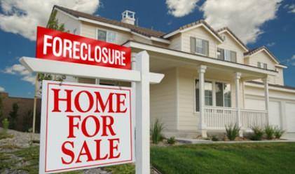 В САЩ намаляват продажбите на имоти с просрочени ипотеки