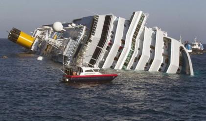 Катастрофата на Коста Конкордия ще струва до 175 млн. долара