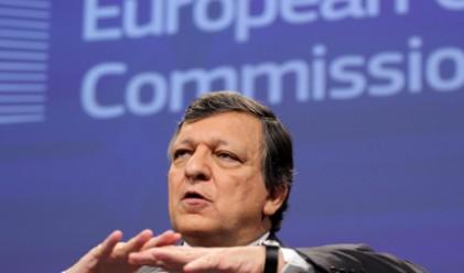 Рискът от разпадане на еврозоната отмина според Барозу