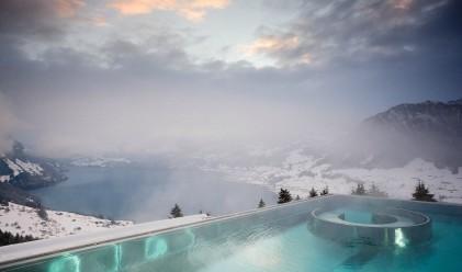 Най-уютните зимни басейни