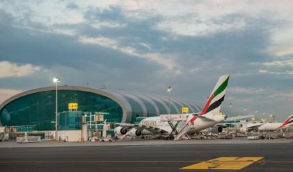 Летището в Дубай е най-натовареното в света по брой на пътниците