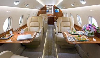 Пет от най-луксозните частни самолети