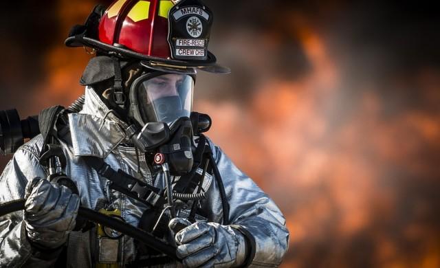 Пожар в столичен мол