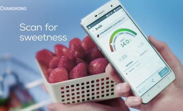 С този смартфон ще си купите най-вкусната ягода в магазина