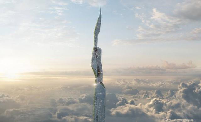 Небостъргачите на бъдещето ще се самопочистват и ще поглъщат смог