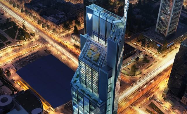 Полша строи най-високия си небостъргач