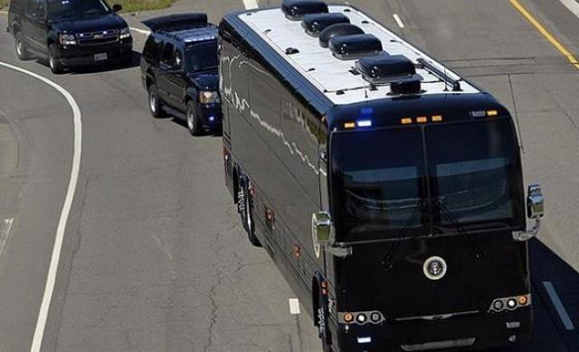 Ground Force One-автобусът за $1.1 млн. на американския президент