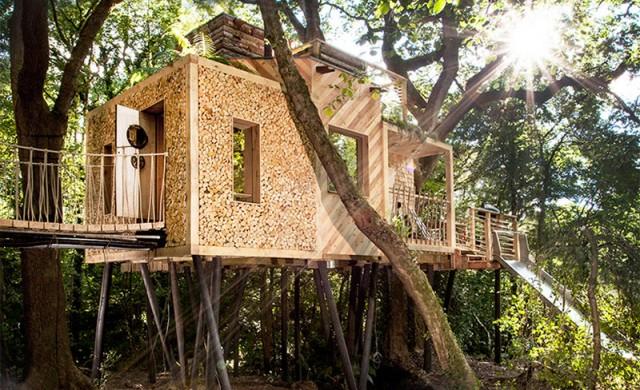 Къща на дърво, проектирана специално за възрастни