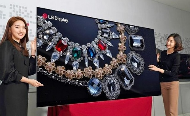 LG показа първия в света телевизор с 8K OLED екран