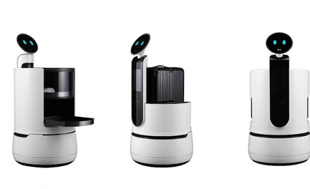 Роботи на LG заменят служители на летища, хотели и супермаркети