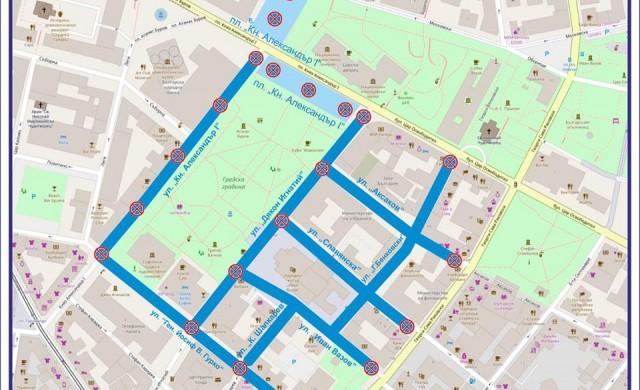 Как ще се промени движението в София на 10, 11 и 12 януари?