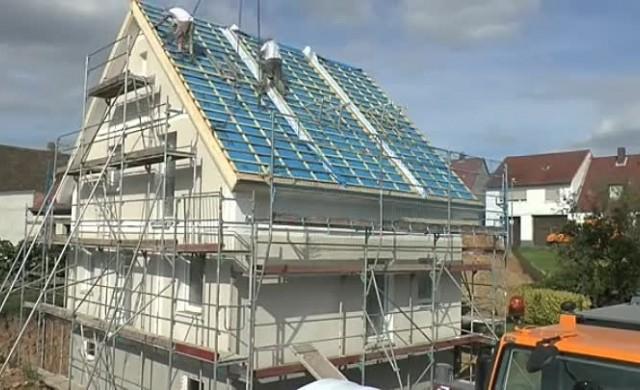 Как германците строят къща за 24 часа?