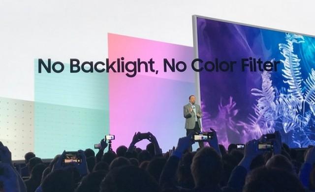 Стената - гигантският телевизор на Samsung