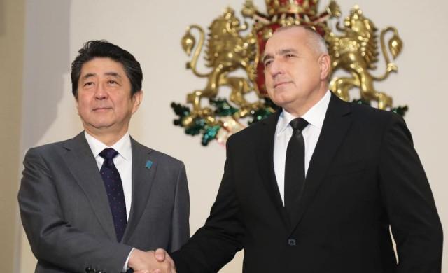 Какво си казаха Бойко Борисов и премиерът на Япония?