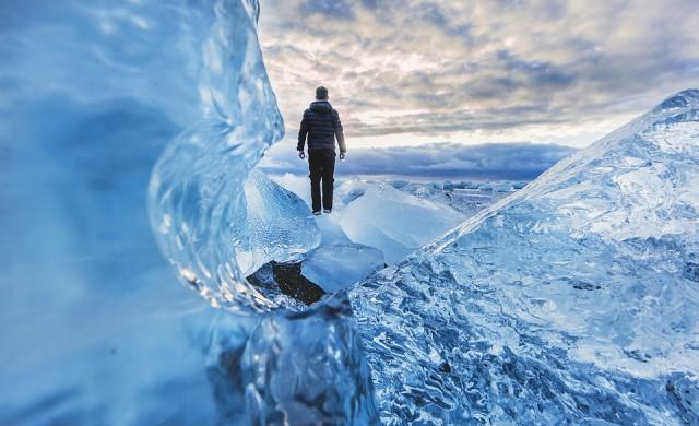 Как да вървите по лед, без да се подхлъзвате?