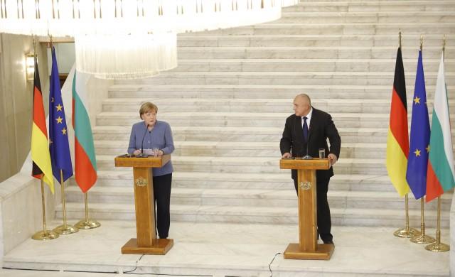 Меркел: Благодаря на България, че пази границата на ЕС с Турция